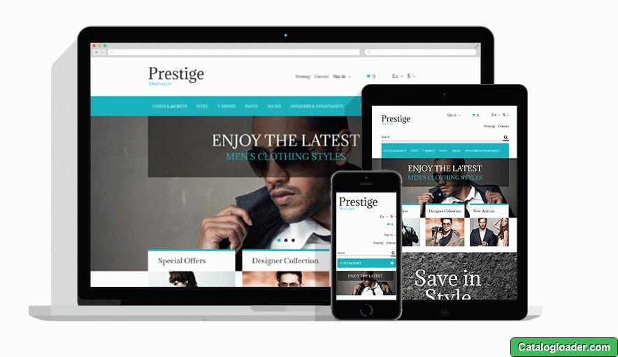 Бесплатная тема для PrestaShop - Fashion Store